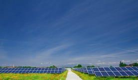 панель поля солнечная стоковые изображения