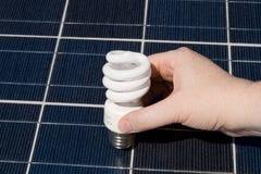 панель света руки шариков компактная дневная солнечная Стоковое Изображение RF