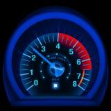 панель сини bike Стоковое Фото