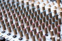 панель смесителя Стоковое фото RF