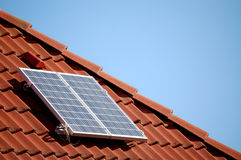 панель солнечная Стоковое Изображение