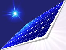 панель солнечная стоковое изображение rf