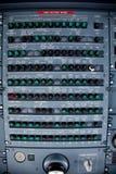 панель с плавкими предохранителями авиалайнера Стоковые Фотографии RF