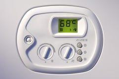 панель топления управлением боилера Стоковые Фото