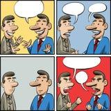 Панели переговора бесплатная иллюстрация
