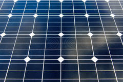Панели солнечной энергии для экологически чистой энергии Стоковые Изображения RF