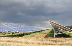 Панели солнечных батарей Стоковое Изображение