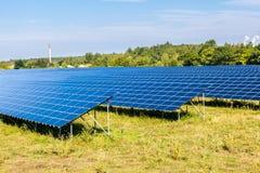Панели солнечных батарей Стоковая Фотография
