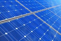 Панели солнечных батарей Стоковые Фотографии RF