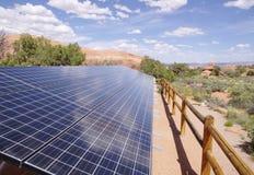 Панели солнечных батарей Стоковая Фотография RF