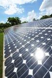 Панели солнечных батарей Стоковое Фото