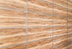 Панели сымитированные текстурой деревянные Стоковое Изображение