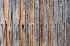Панели Grunge деревянные для двери предпосылки старой Стоковые Фотографии RF