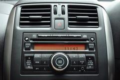 Панель автомобильного радиоприемника Стоковое Изображение