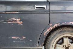 Панель двери старого автомобиля Стоковая Фотография