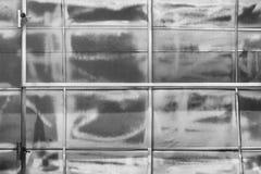 Панель конструкции металлического листа стоковое фото