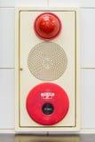 Панель пожарной сигнализации стоковые изображения