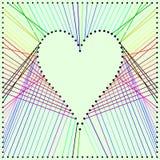 Панель сердца Стоковые Изображения RF