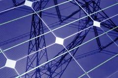 Панель солнечных батарей Стоковые Изображения RF