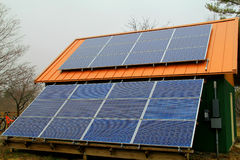 Панель солнечных батарей Стоковое Фото