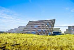 Панель солнечных батарей PV Стоковое фото RF