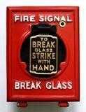 паника кнопки Стоковое фото RF