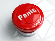 паника кнопки Стоковые Фотографии RF