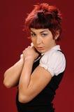 панк волос стоковое фото rf