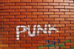 панк надписи на стенах Стоковые Изображения