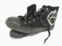 панк s gymshoes высокий Стоковое Изображение RF