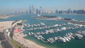 Панорама Абу-Даби видеоматериал