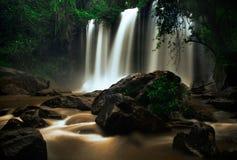 Панорама ландшафта водопада Стоковое фото RF