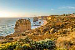 Панорама 12 апостолов Австралии Стоковые Изображения RF