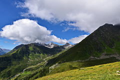 Панорама Альпов в Австрии Стоковое фото RF