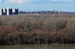 Панорама Белграда Стоковое Изображение RF