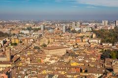 Панорама болонья, Италия Стоковая Фотография RF