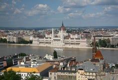 Панорама Будапешта Стоковое фото RF