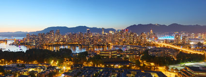 Панорама Ванкувера Стоковое фото RF