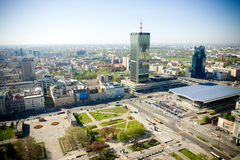 Панорама Варшавы Стоковые Фотографии RF