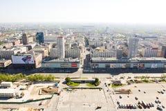 Панорама Варшавы Стоковая Фотография