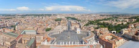 Панорама Ватикана Стоковое Фото
