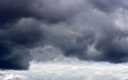 Панорама весны, лета заволакивает на голубое небо, предпосылку, tex Стоковые Фотографии RF