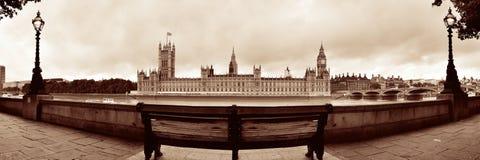 Панорама Вестминстера стоковое фото rf