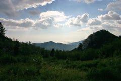 Панорама взморья Paklenica NP красивая стоковая фотография