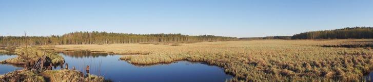 Панорама водного пути Стоковые Фотографии RF