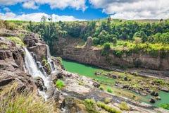 Панорама водопада стоковые изображения