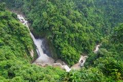 Панорама водопада Стоковая Фотография RF