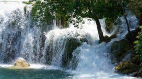 Панорама водопадов Krka Стоковое Изображение RF