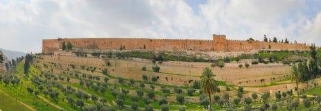 Панорама в Иерусалиме Стоковая Фотография