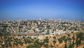 Панорама в Иерусалиме Стоковые Изображения RF